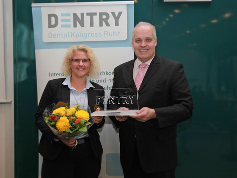 Hevido gewinnt DENTRY Award 7. DENTRY DentalKongress Ruhr 2017